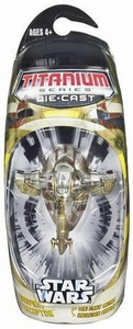 Star Wars Titanium Series Diecast Mini Firespray Interceptor BLOWOUT SALE!