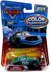 Disney / Pixar CARS Movie 1:55 Color Changers Dinoco Chick Hicks