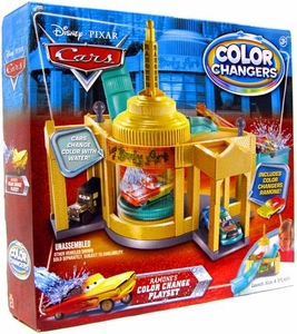 Disney / Pixar CARS Movie 1:55 Cars Ramone's Color Change Playset