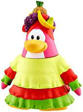 Disney Club Penguin 2 Inch Mini Figure Fiesta Girl