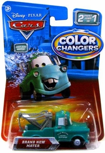 Disney / Pixar CARS Movie 1:55 Color Changers Brand New Mater
