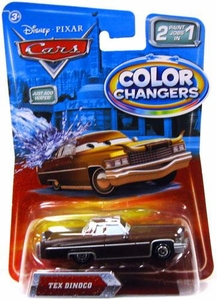 Disney / Pixar CARS Movie 1:55 Color Changers Tex Dinoco