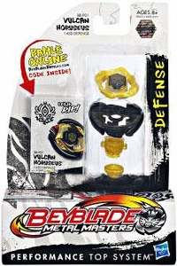 Beyblades Metal Masters Defense Battle Top #BBP01 Vulcan Horuseus