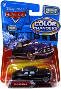 Disney / Pixar CARS Movie 1:55 Color Changers Doc Hudson