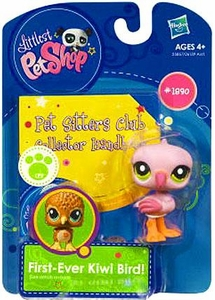 Littlest Pet Shop Sitters Club Collector Handbook Flamingo