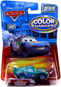 Disney / Pixar CARS Movie 1:55 Color Changers Dinoco Lightning McQueen