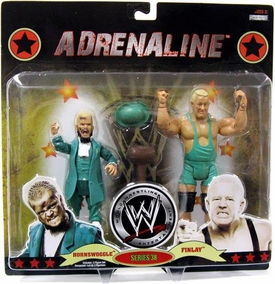 WWE Wrestling Adrenaline Series 38 Action Figure 2-Pack Hornswoggle & Finlay