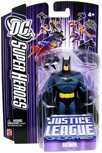 DC Super Heroes Justice League Unlimited Action Figure Batman with Batarang [Purple Card]