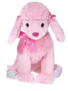 Ty Classic Plush Pinky Poo the Dog