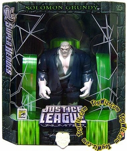 DC Super Heroes Justice League Unlimited Exclusive Action Figure Solomon Grundy