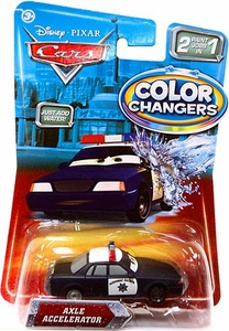 Disney / Pixar CARS Movie 1:55 Color Changers Axle Accelerator