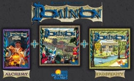 Dominion: Big Box [Includes Base Game, Expansions Alchemy & Prosperity]