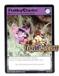 Neopets Trading Card Game Lost Desert Single Card Rare  25/100 Flooding Chamber