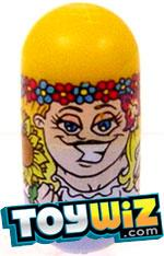 Mighty Beanz Series 3 Rare Hippies Single #162 Flower Power Bean