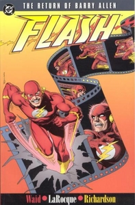 DC Comic Books The Flash The Return of Barry Allen Trade Paperback