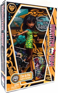 Monster High Dawn of Dance Deuxe Doll Cleo De Nile [Orange Package]