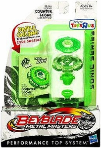 Beyblades Metal Masters Exclusive Sonic Series Defense Battle Top #BB04A Legend Counter Leone