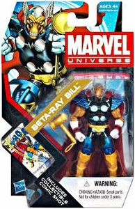 Marvel Universe 3 3/4 Inch Series 18 Action Figure#11 Beta Ray Bill