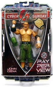 WWE Wrestling PPV Pay Per View Series 14 Cyber Sunday Action Figure John Cena