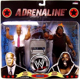 WWE Wrestling Adrenaline Series 36 Action Figure 2-Pack Tony Atlas & Mark Henry