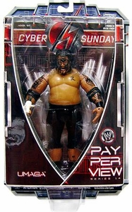 WWE Wrestling PPV Pay Per View Series 14 Cyber Sunday Action Figure Umaga