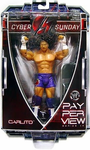 WWE Wrestling PPV Pay Per View Series 14 Cyber Sunday Action Figure Carlito