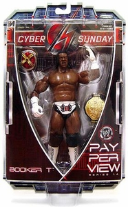 WWE Wrestling PPV Pay Per View Series 14 Cyber Sunday Action Figure King Booker