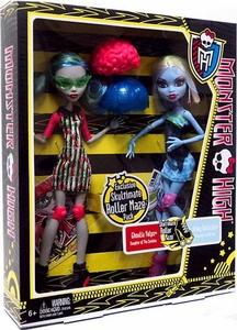 Monster High Skultimate Roller Maze Doll 2-Pack Ghoulia Yelps & Abbey Bominable