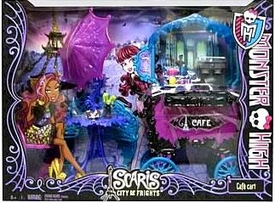Monster High Scaris City of Frights Playset Cafe Cart