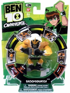 Ben 10 Omniverse Wind-Up Action Figure Shocksquatch