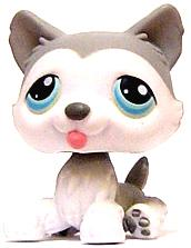Littlest Pet Shop LOOSE Figure #68 Husky