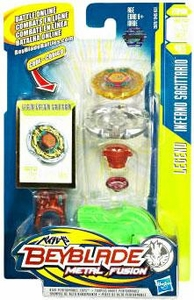 Beyblades Metal Fusion Stamina Battle Top #BB03 Inferno Sagittario [Legend]