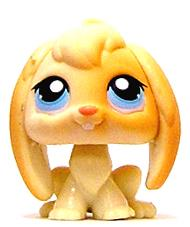 Littlest Pet Shop LOOSE Figure #95 White & Tan Bunny