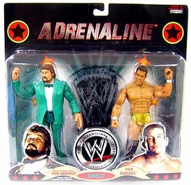 WWE Wrestling Adrenaline Series 37 Action Figure 2-Pack Million Dollar Man & Ted Dibiase Jr.