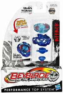 Beyblades Metal Masters Attack Battle Top #BB70 Galaxy Pegasus