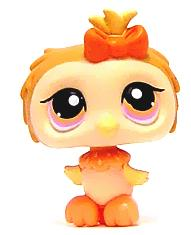 Littlest Pet Shop LOOSE Figure #431 Tan Owl
