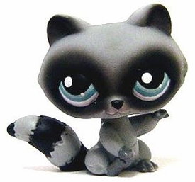 Littlest Pet Shop LOOSE Figure #196 Racoon RARE!