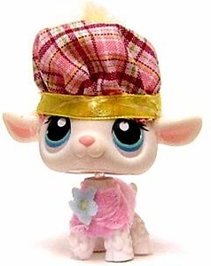 Littlest Pet Shop LOOSE Figure #396 Scottish Lamb with Hat
