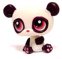 Littlest Pet Shop LOOSE Figure #387 Chinese Panda