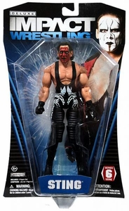 TNA Wrestling Deluxe Impact Series 6 Action Figure Sting
