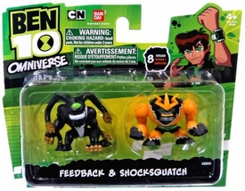Ben 10 Omniverse 2 Inch Mini Figure 2-Pack Feedback & Shocksquatch