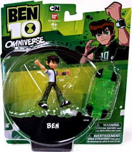 Ben 10 Omniverse 4 Inch Action Figure Ben [10 Years Old with Green Skateboard]