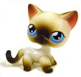 Littlest Pet Shop LOOSE Figure #5 Siamese Cat [Blue Eyes]