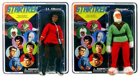 Diamond Select Star Trek Original Series Set of Both Series 5 Cloth Retro Action Figures [Uhura & Mugatu]