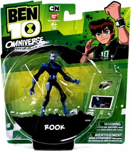 Ben 10 Omniverse 4 Inch Action Figure Rook BLOWOUT SALE!