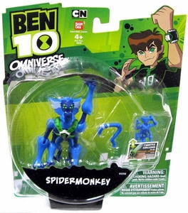 Ben 10 Omniverse 4 Inch Action Figure Spidermonkey