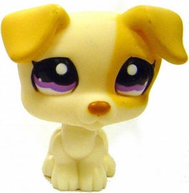 Littlest Pet Shop LOOSE Around the World Figure #1110Jack Russel Terrier Puppy