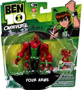 Ben 10 Omniverse 4 Inch Action Figure Super Four Arms