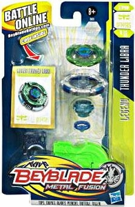 Beyblades Metal Fusion Stamina Battle Top #BB18 Thunder Libra