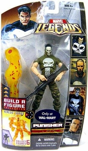 Marvel Legends Exclusive Nemesis Build-A-Figure Wave Action Figure Punisher [Vietnam Painted Face Variant]